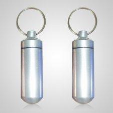 Silver Cremation Keychains