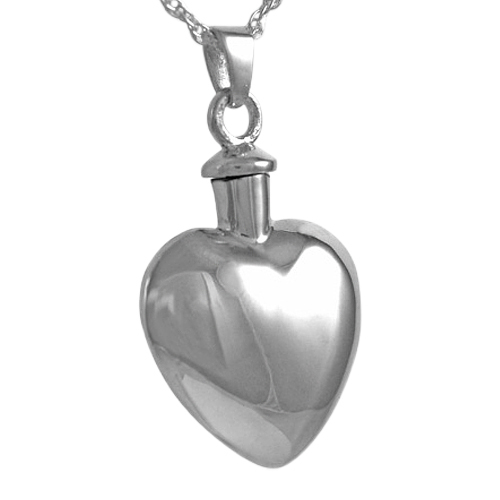 Heart Necklace For Ashes