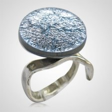 Silver Memorial Ashes Ring