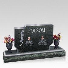 Simplic Upright Cemetery Headstone