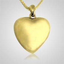 Simplicity Heart Keepsake Pendant II