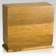 Simplicity Oak Scattering Urn