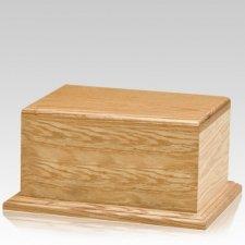 Simplimente Oak Wood Urn