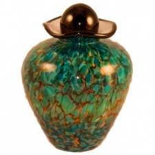 Sirena Glass Pet Cremation Urn