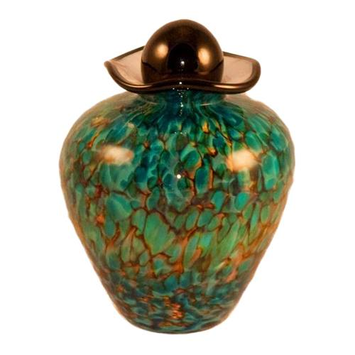 Sirena Glass Pet Cremation Urn