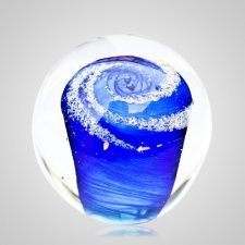 Sky Cremation Glass Weight
