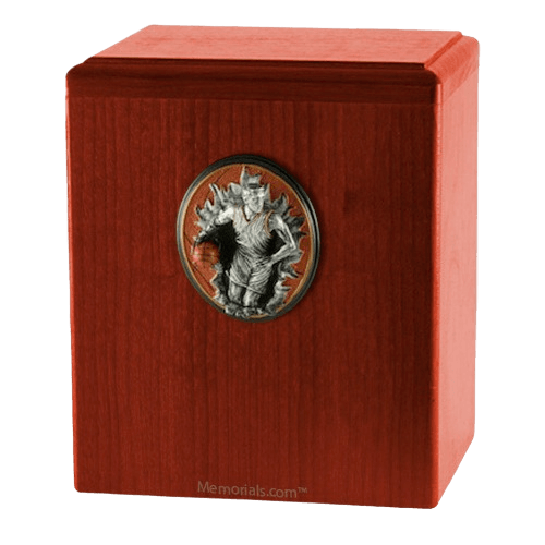 Slam Dunk Cherry Cremation Urn