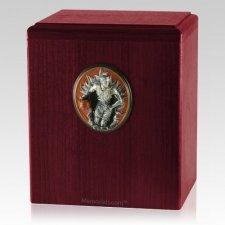Slam Dunk Rosewood Cremation Urn