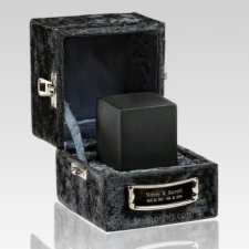 Slate Cube Keepsake Cremation Urn