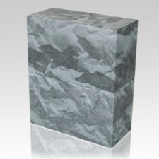 Slate Earthurn Biodegradable Cremation Urn