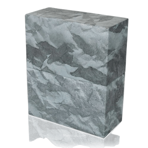 Slate Earthurn Biodegradable Cremation Urn