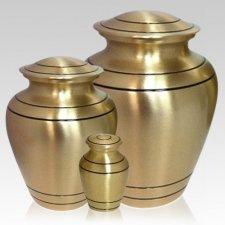 Sleek Bronze Cremation Urns