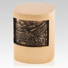 Soaring Eagle Bronze Cremation Urn