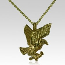 Soaring Eagle Cremation Jewelry IV