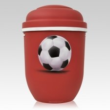 Soccer Biodegradable Urns
