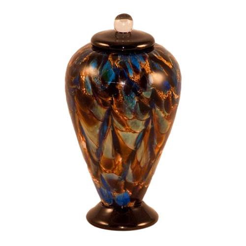 Soiree Glass Pet Cremation Urn