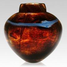 Solar Glass Cremation Urn