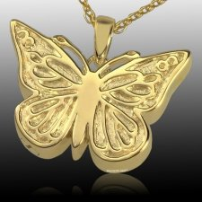 Solitary Butterfly Cremation Pendant IV