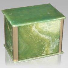 Solitude Green Onyx Companion Urn