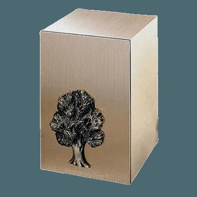 Solitude Oak Bronze Cremation Urn