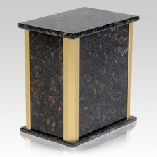 Solitude Tan Brown Granite Urns