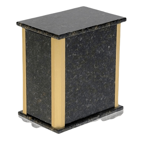 Solitude Verde Granite Urn