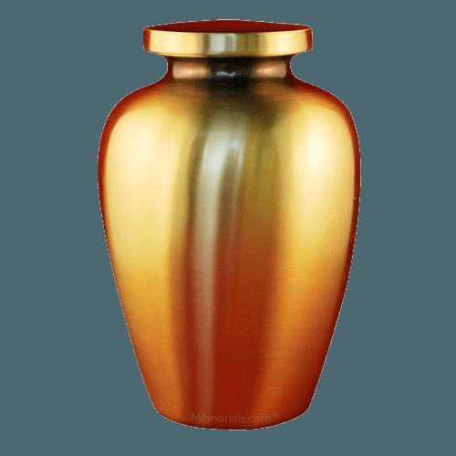 Spartan Bronze Cremation Urns