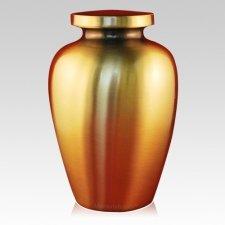 Spartan Bronze Cremation Urn