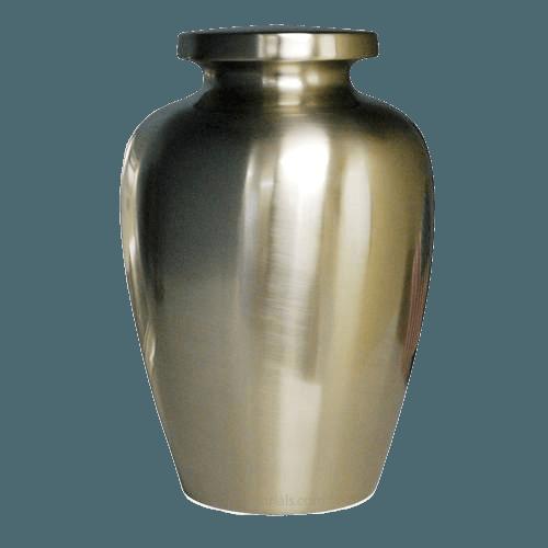 Spartan Nickel Cremation Urn