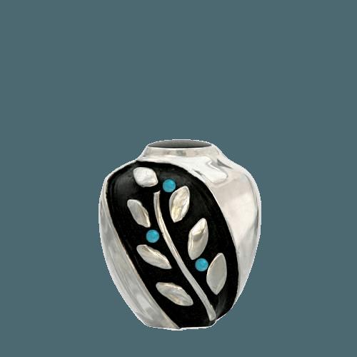 Spirit Turquoise Bronze Keepsake Urn