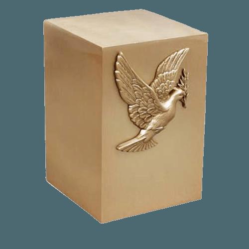 Pax Spiriti Bronze Cremation Urn