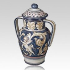 Grandeur Ceramic Cremation Urn