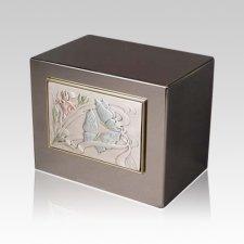 Spring Farfalle Cremation Urn