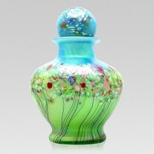 Spring Glass Cremation Urns
