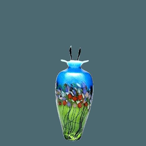 Spring Glass Keepsake Urn