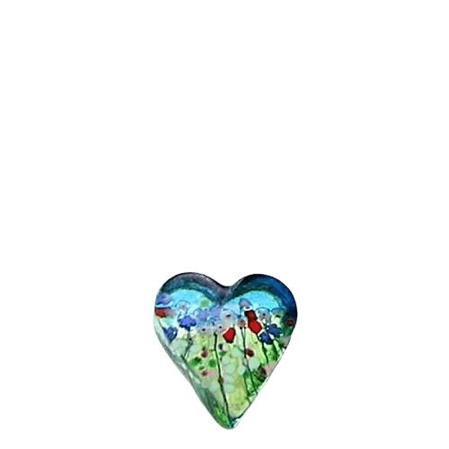 Spring Glass Heart Keepsake