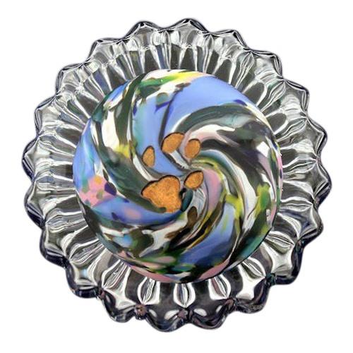 Spring Swirl Pet Keepsake Urn