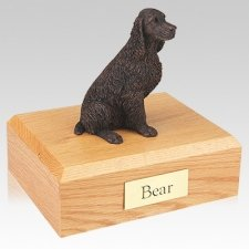 Springer Spaniel Bronze Dog Urns