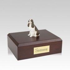 Springer Spaniel Liver Medium Dog Urn