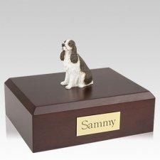 Springer Spaniel Liver X Large Dog Urn