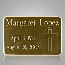 Square Urn Engraving Plate