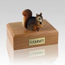 Squirrel Large Cremation Urn