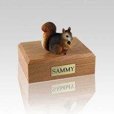 Squirrel Small Cremation Urn