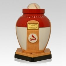 St. Louis Cardinals Baseball Cremation Urn