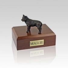Staffordshire Bull Terrier Brindle Medium Dog Urn