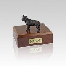 Staffordshire Bull Terrier Brindle Small Dog Urn