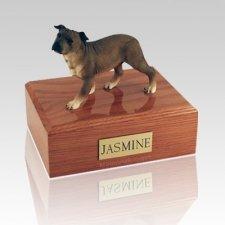 Staffordshire Terrier Standing Dog Urns