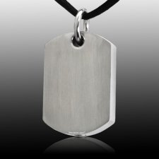 Stainless Tag Cremation Pendant