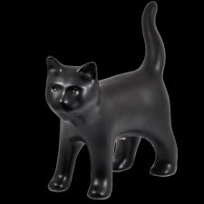 Standing Black Cat Cremation Urn