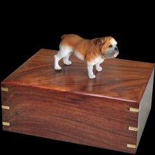 Standing Bulldog Doggy Urns